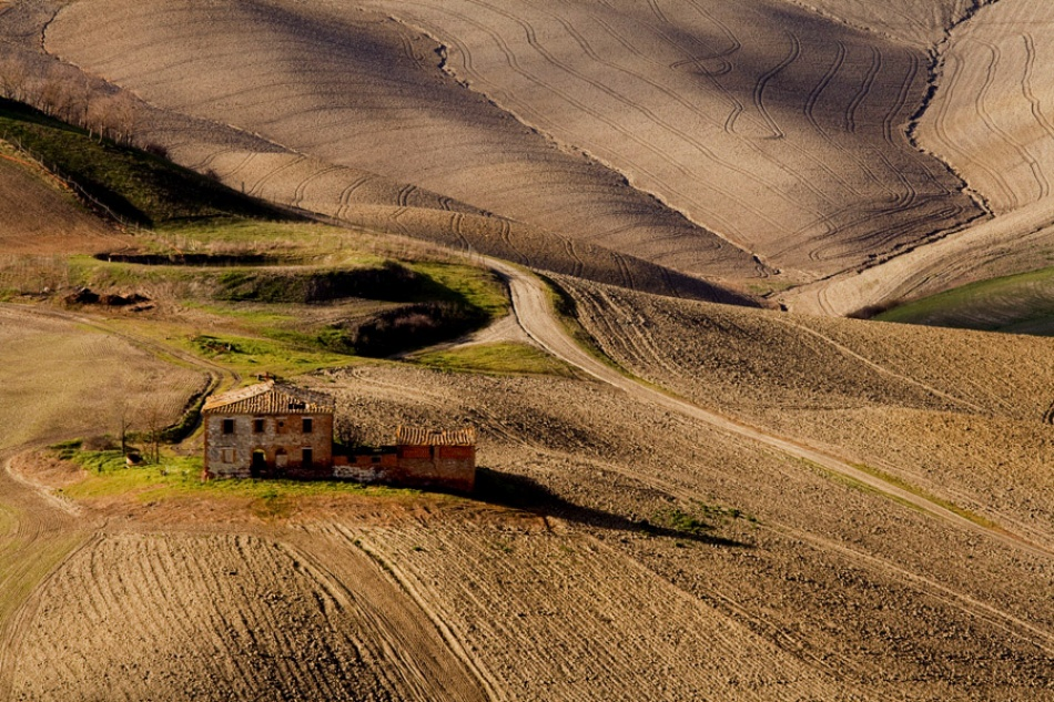 A piece of fine art art photography titled Toscana by Luciano Caturegli