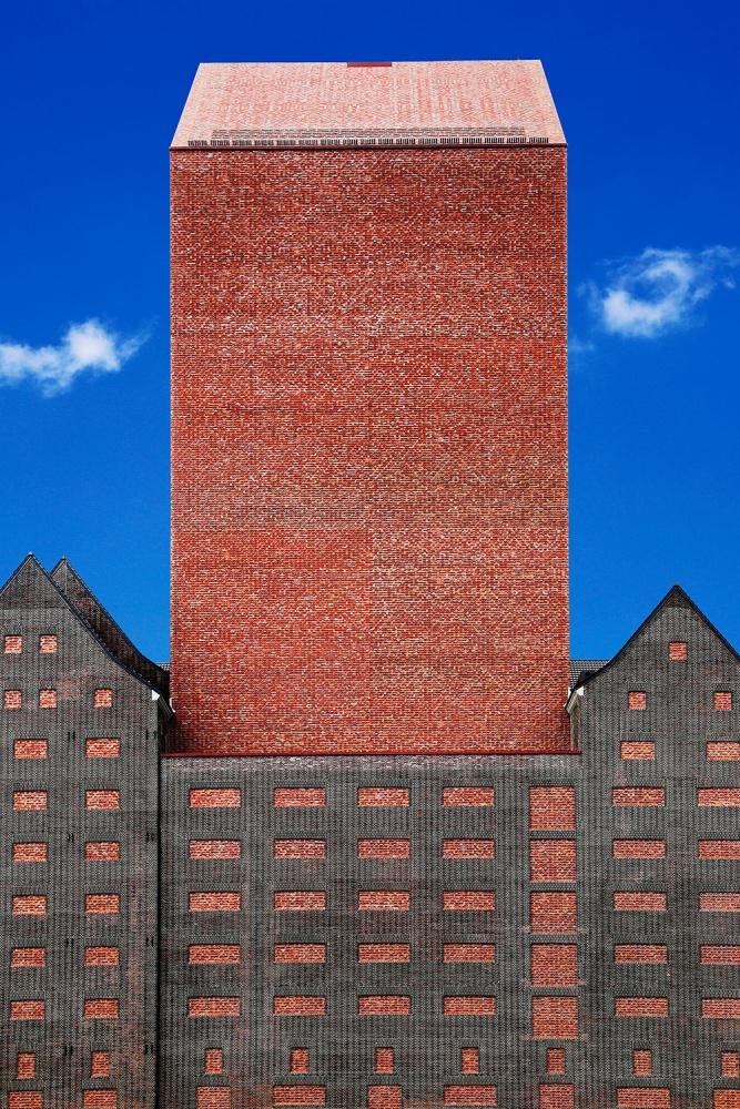 A piece of fine art art photography titled Brick by Eric Mattheyses