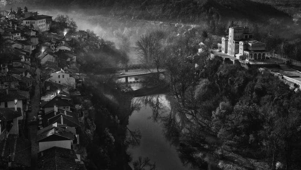 A piece of fine art art photography titled A Beautiful Morning In Veliko Tarnovo by Andrei Nicolas - The Traveler
