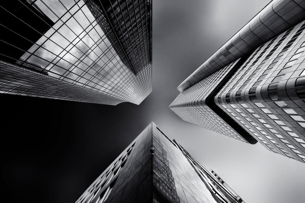 A piece of fine art art photography titled Proximity by Gerard Jonkman