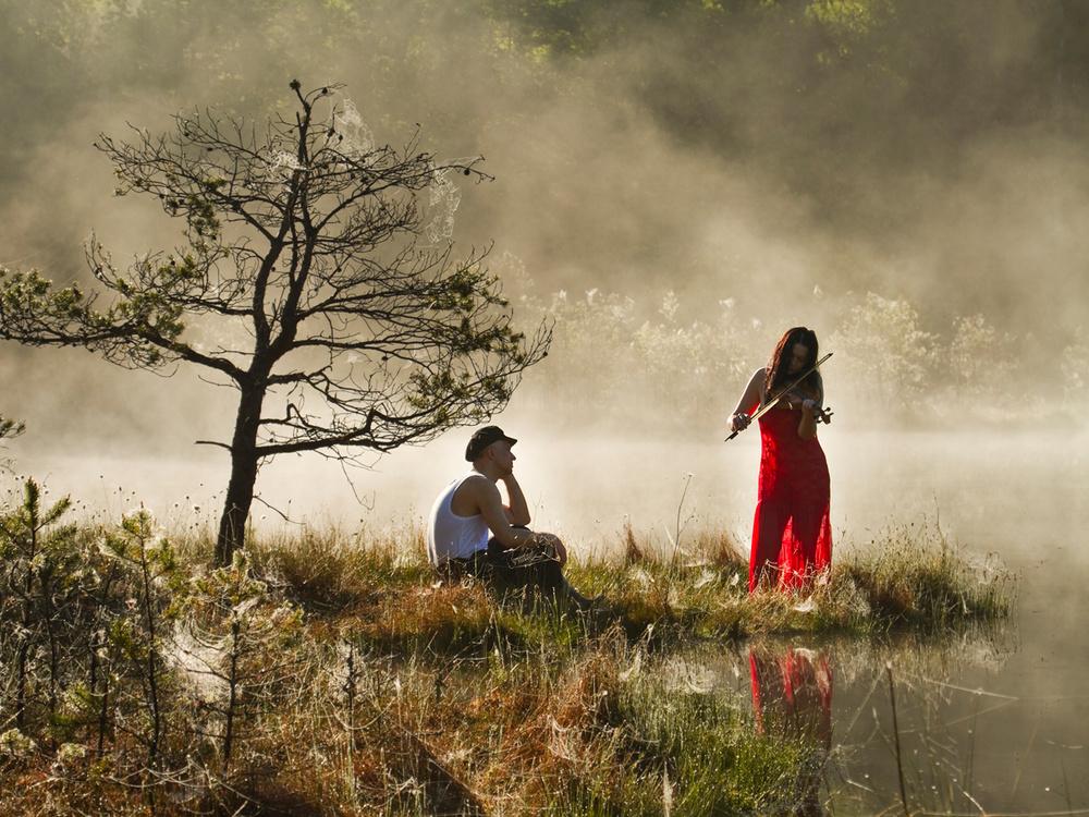 A piece of fine art art photography titled Concert by Leszek Paradowski