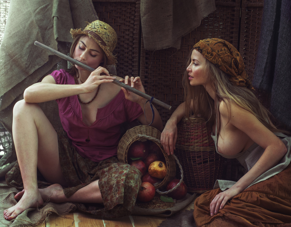 A piece of fine art art photography titled Untitled by David Dubnitskiy