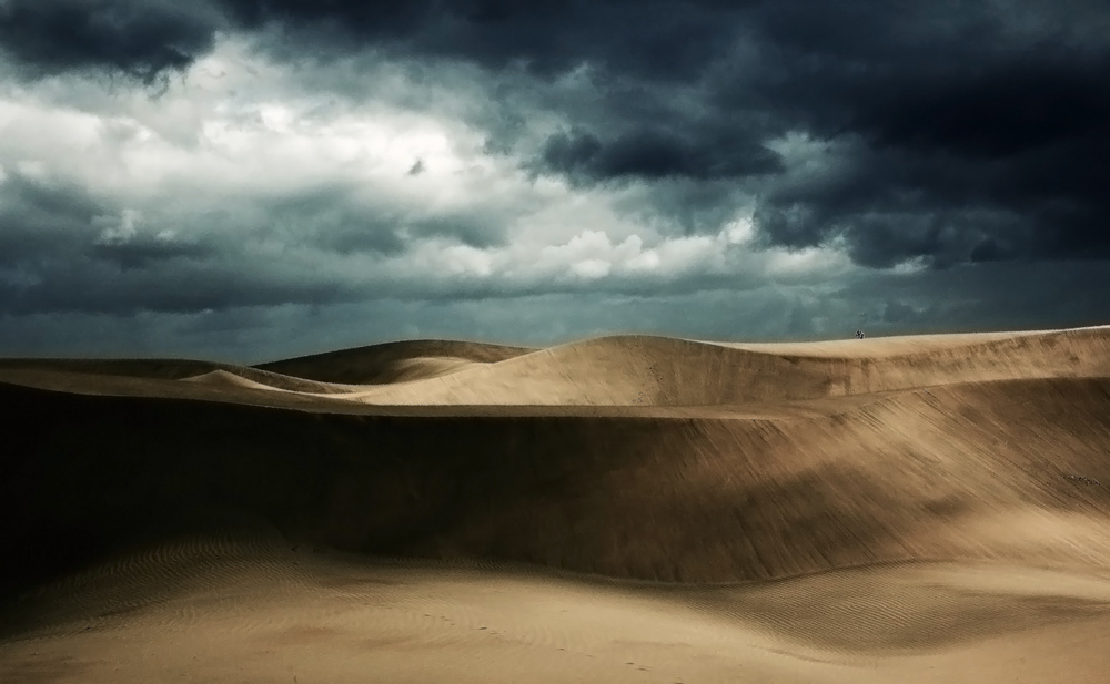 View this piece of fine art photography titled The desert by Ole Nielsen