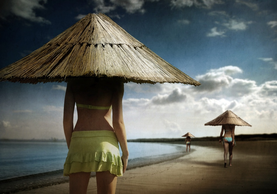 A piece of fine art art photography titled Sun-bay Watch by Ben Goossens