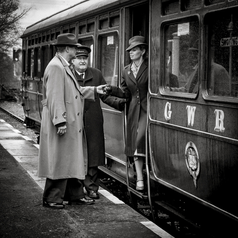 A piece of fine art art photography titled The Arrival by Richard Bland