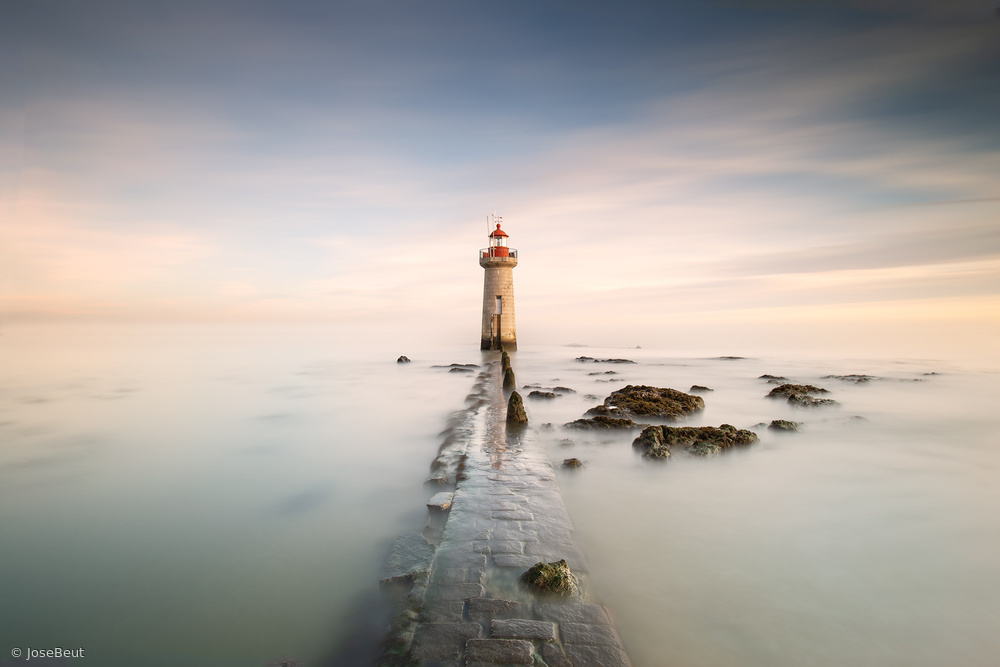View this piece of fine art photography titled Lighthouse by Marco Maljaars