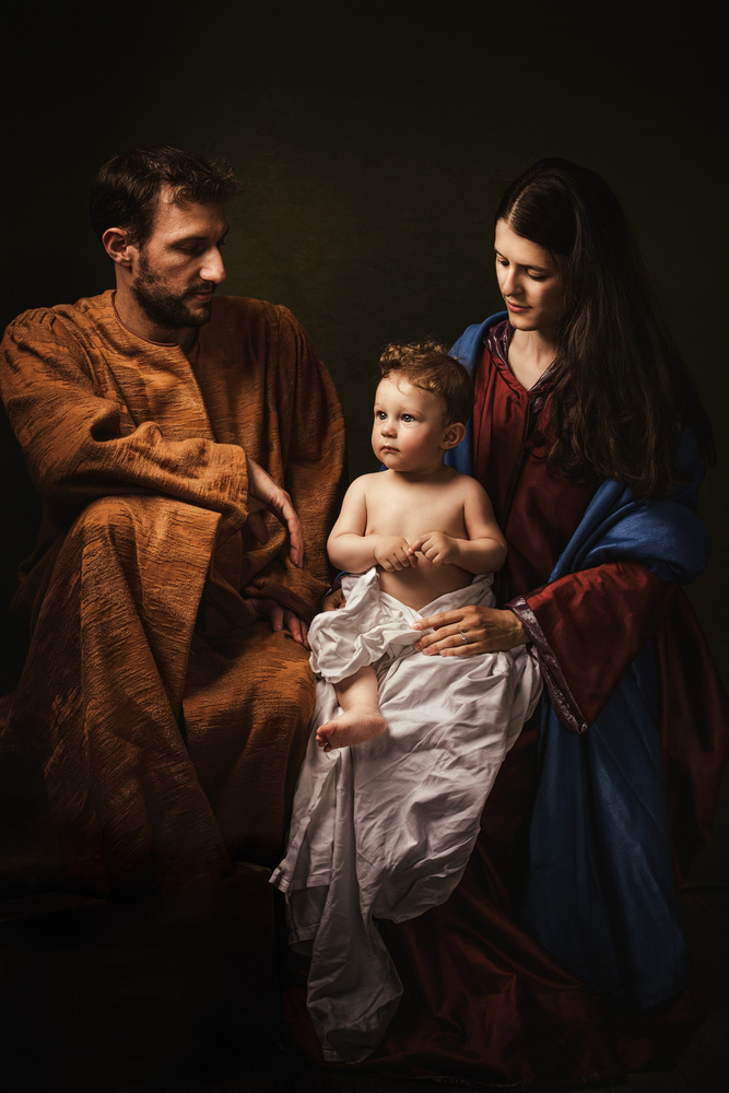 View this piece of fine art photography titled Holy Family, (part2) by Özden Sözen