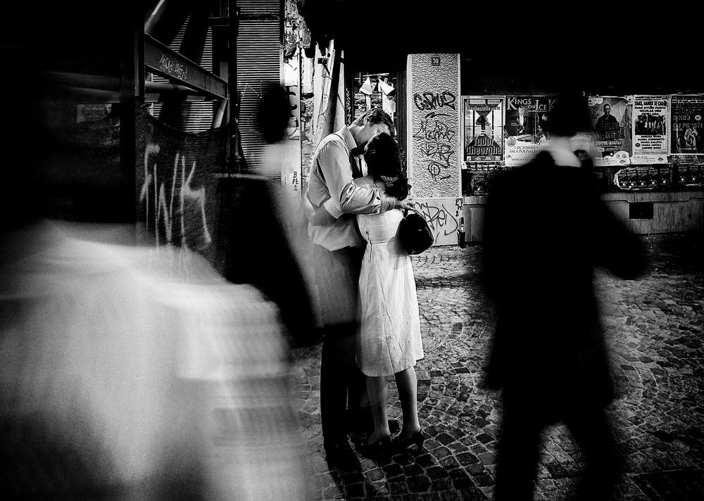 A piece of fine art art photography titled Till the End of Time by Mirela Momanu
