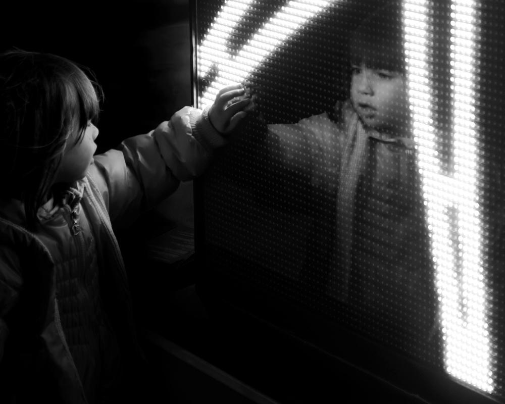A piece of fine art art photography titled Curiosity by Knut Arne Gjertsen