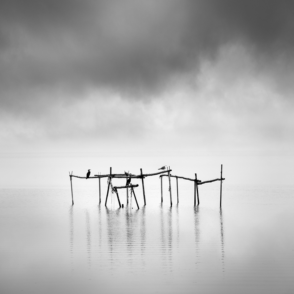 A piece of fine art art photography titled Axios Delta 007 by George Digalakis