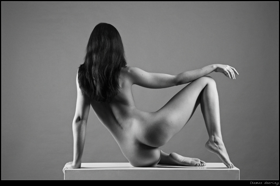 A piece of fine art art photography titled Alanna by Thomas Doering