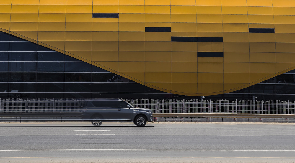 A piece of fine art art photography titled Speed by Kirill Oginov