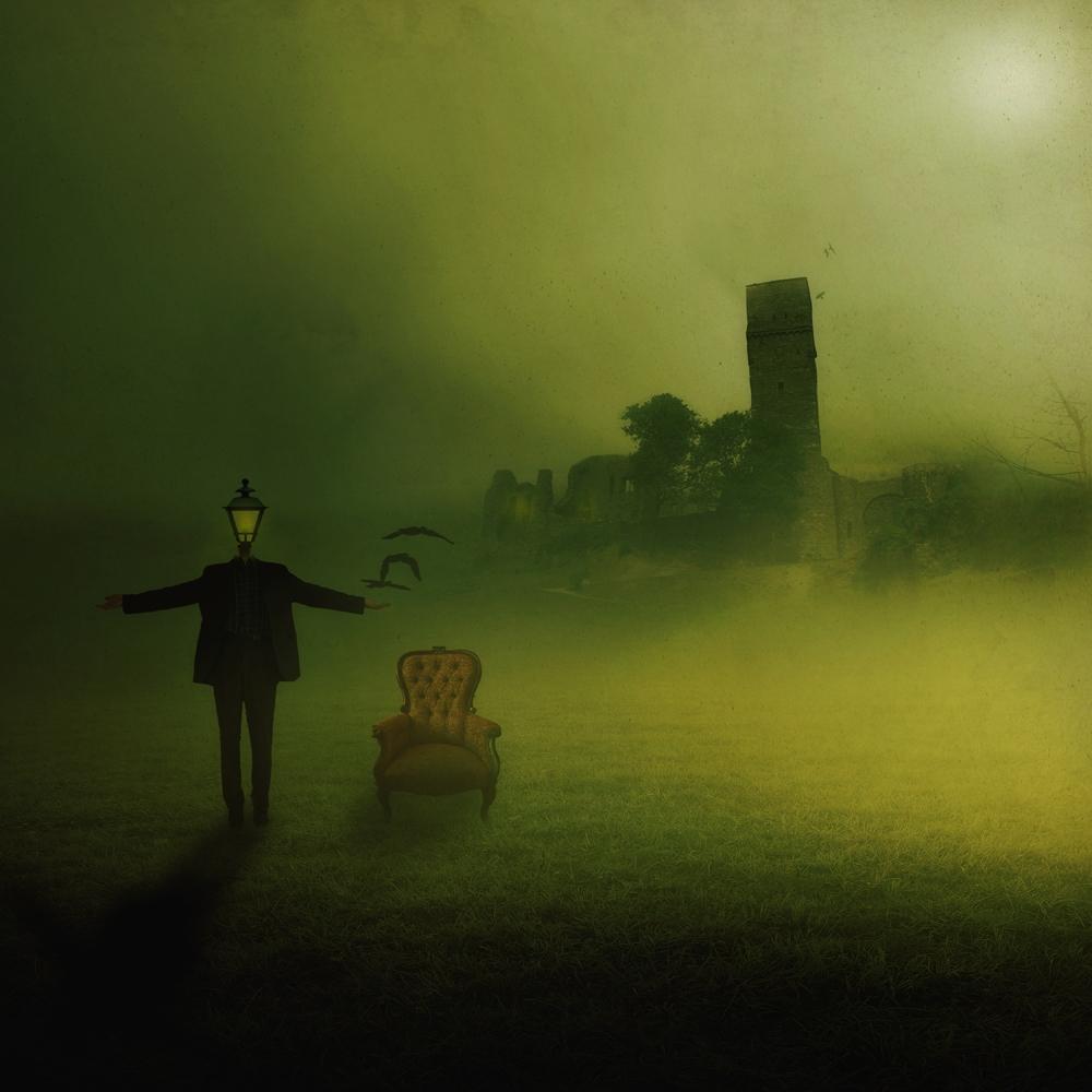 A piece of fine art art photography titled Der Wegweiser by Kaveh Hosseini (Steppenwolf)