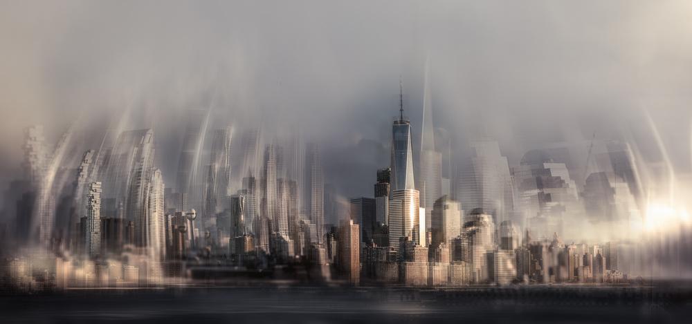 A piece of fine art art photography titled Manhattan by Carla DLM