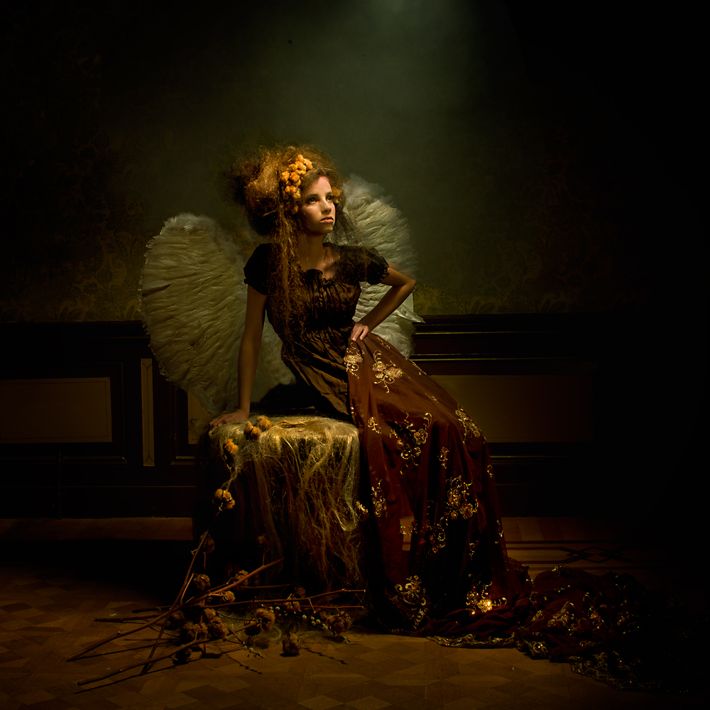 A piece of fine art art photography titled Angel by Peter Kemp