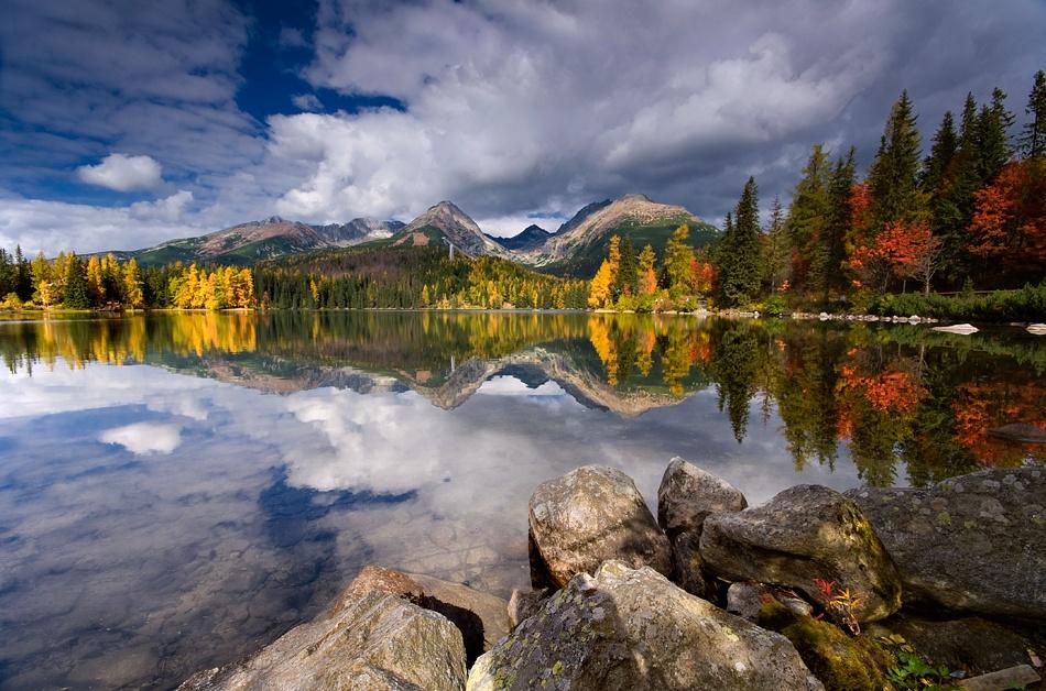 A piece of fine art art photography titled Autumn by Piotr Cichosz