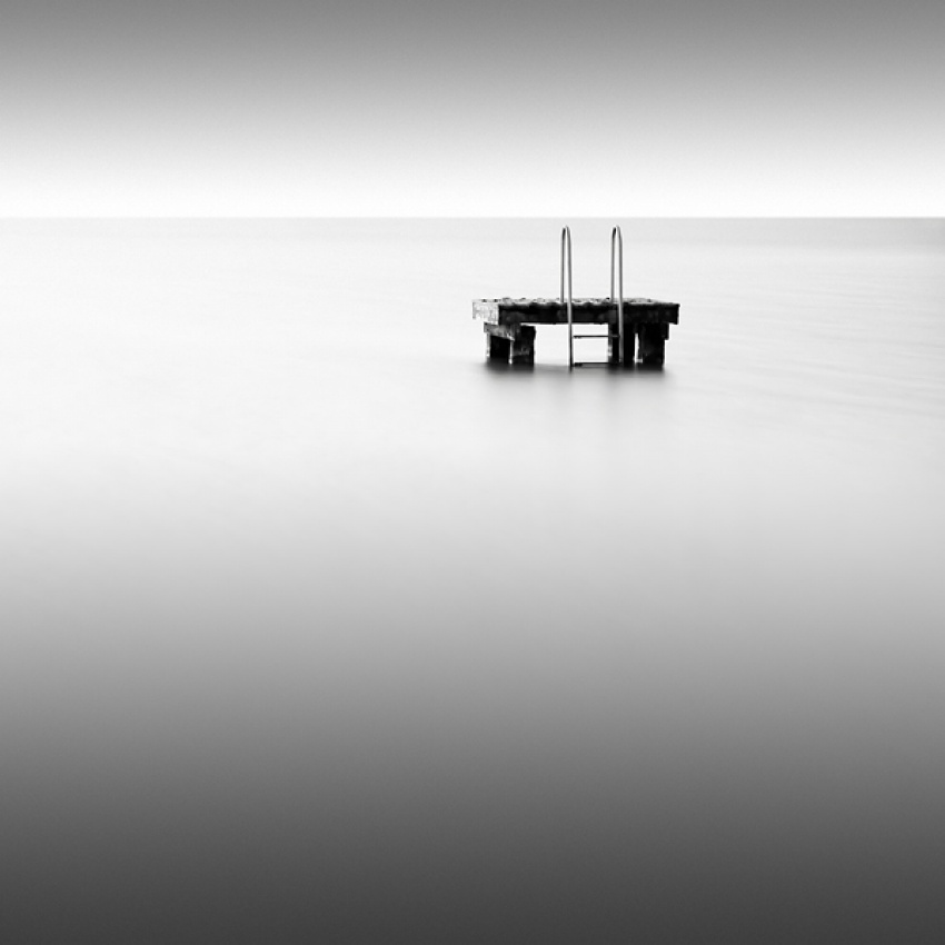 A piece of fine art art photography titled The Pool by Arkadius Zagrabski
