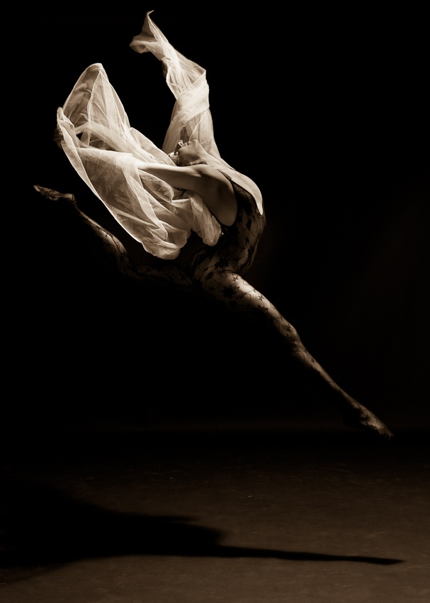 A piece of fine art art photography titled Dance and Dreams #4 by Richard Blouin