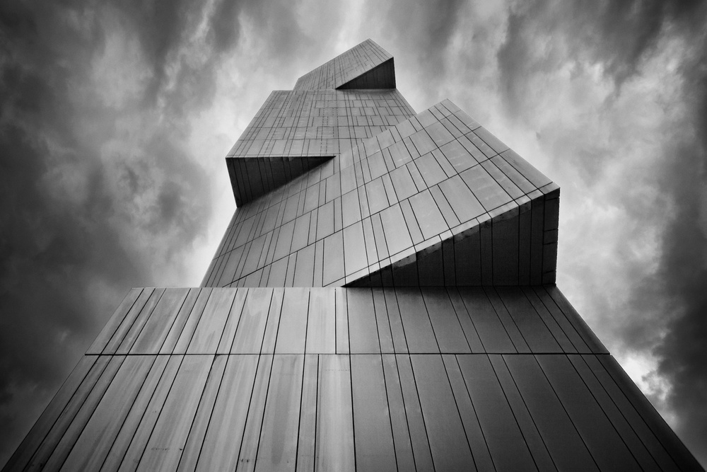 A piece of fine art art photography titled The Tower by aRRO