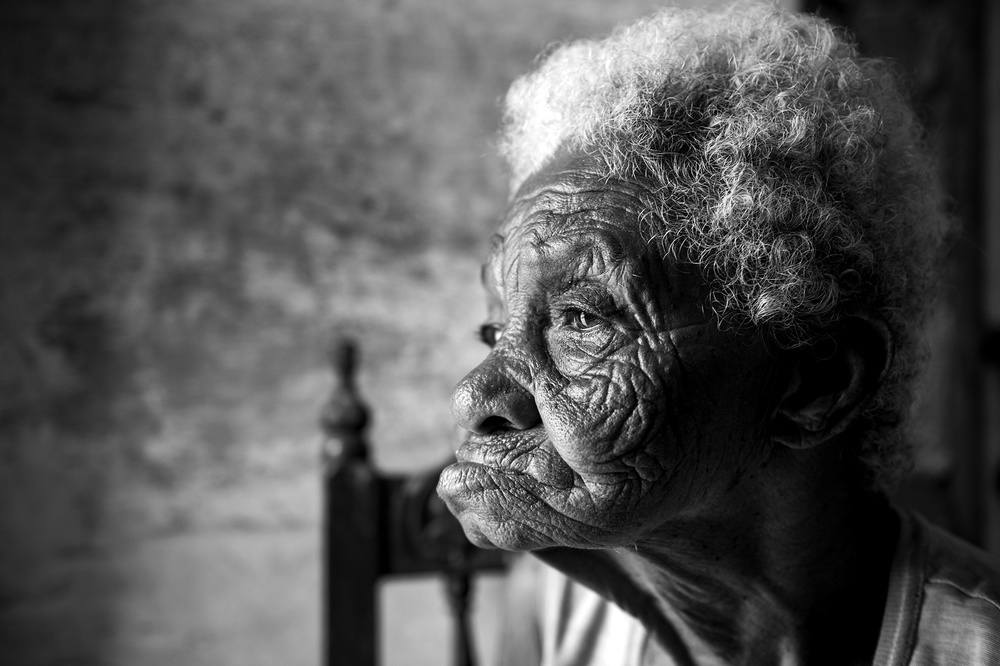 A piece of fine art art photography titled Aging by osama alsulami