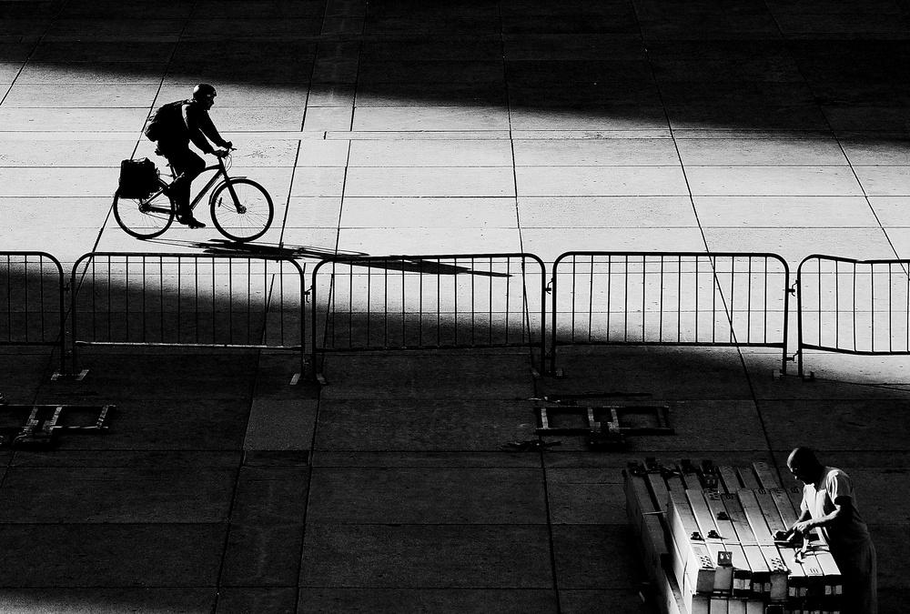 A piece of fine art art photography titled Bright Darkenss by Jian Wang