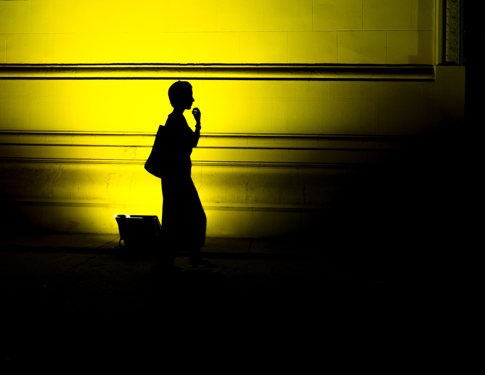 A piece of fine art art photography titled Black and Yellow by Marius NJ