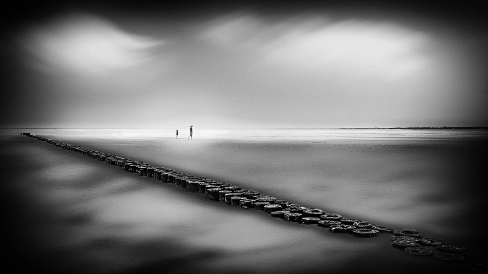 A piece of fine art art photography titled On the Shore by Ina Tänzer