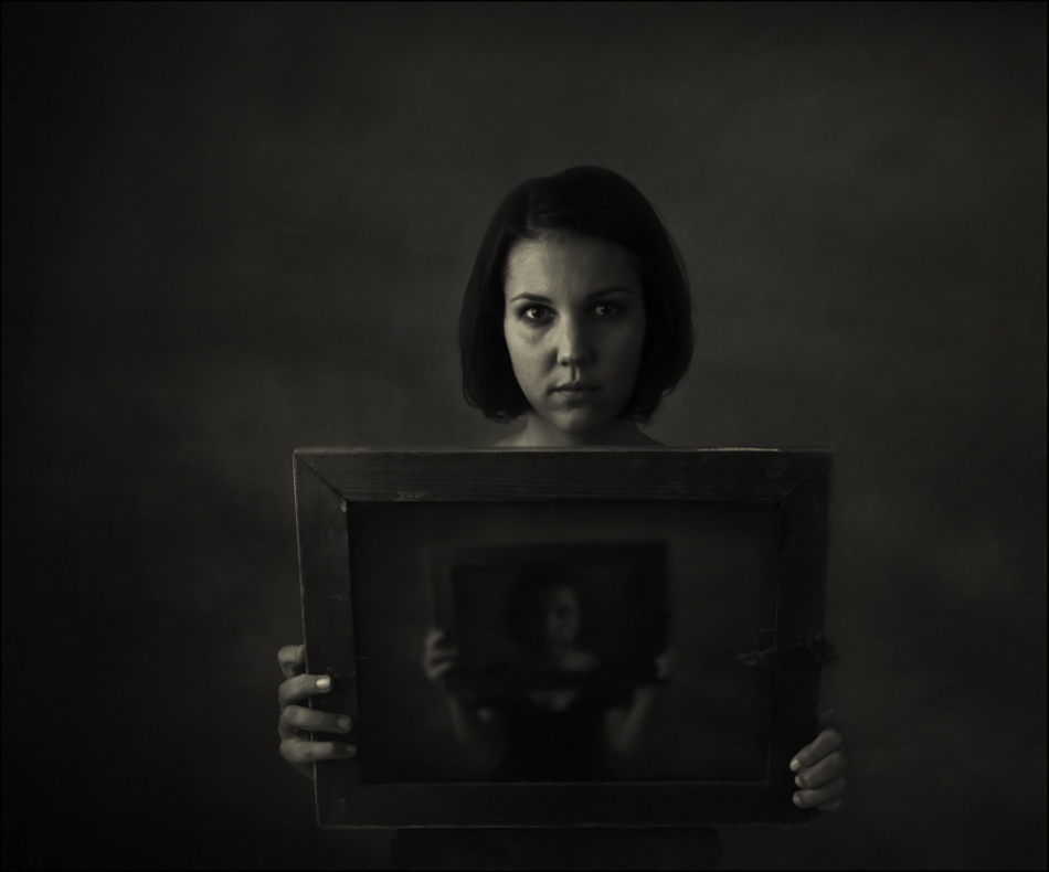 A piece of fine art art photography titled J by Raphael Guarino