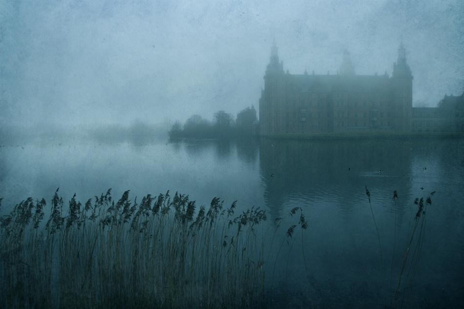 A piece of fine art art photography titled Castles In the Sky by Jesper Larsen