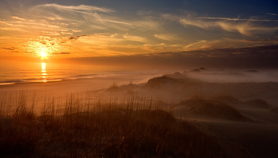 A piece of fine art art photography titled Golden Moment by Doug Roane