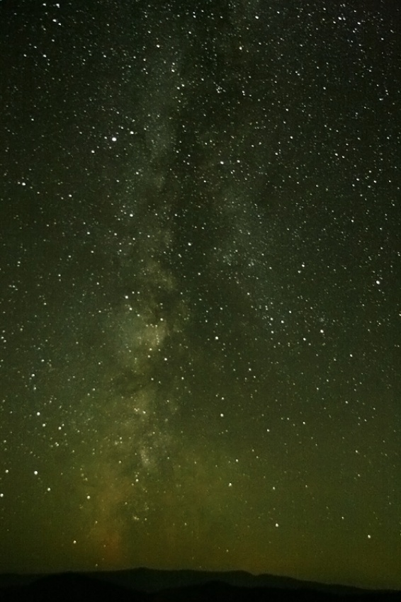 A piece of fine art art photography titled Milky Way by Diana Bodea
