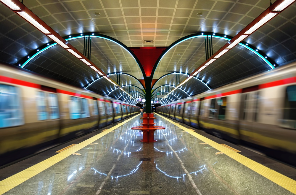 A piece of fine art art photography titled Metro by rapsody