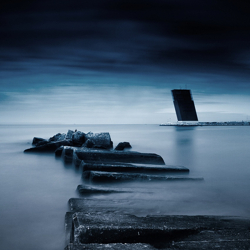 A piece of fine art art photography titled Dramatic Sky by Pedro Miguel Barreiros