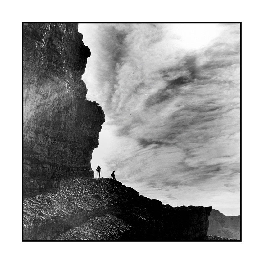 A piece of fine art art photography titled Goin' Up High by Alberto Bregani