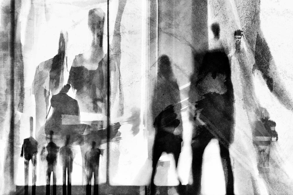 A piece of fine art art photography titled Undercover by The Jar - Geir Jartveit