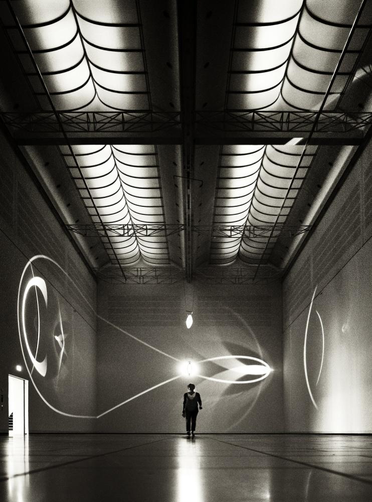 A piece of fine art art photography titled The Light Effect by Gerard Jonkman