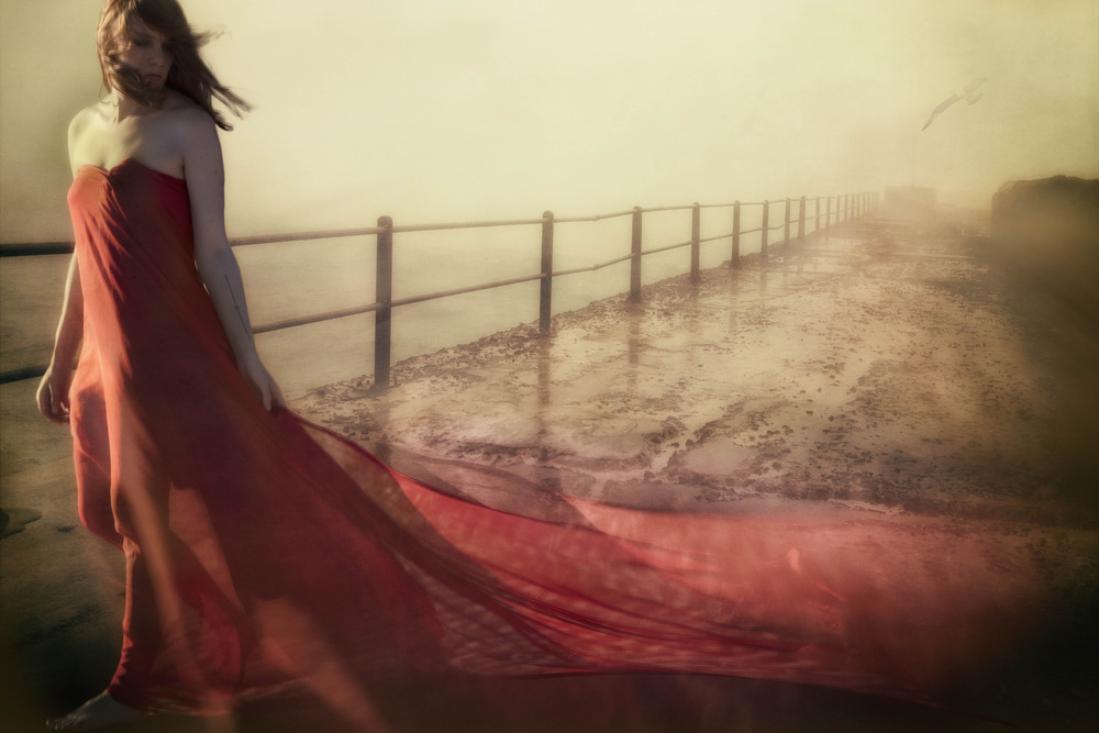 A piece of fine art art photography titled I Keep Dreaming You'll Be With Me by Charlaine Gerber