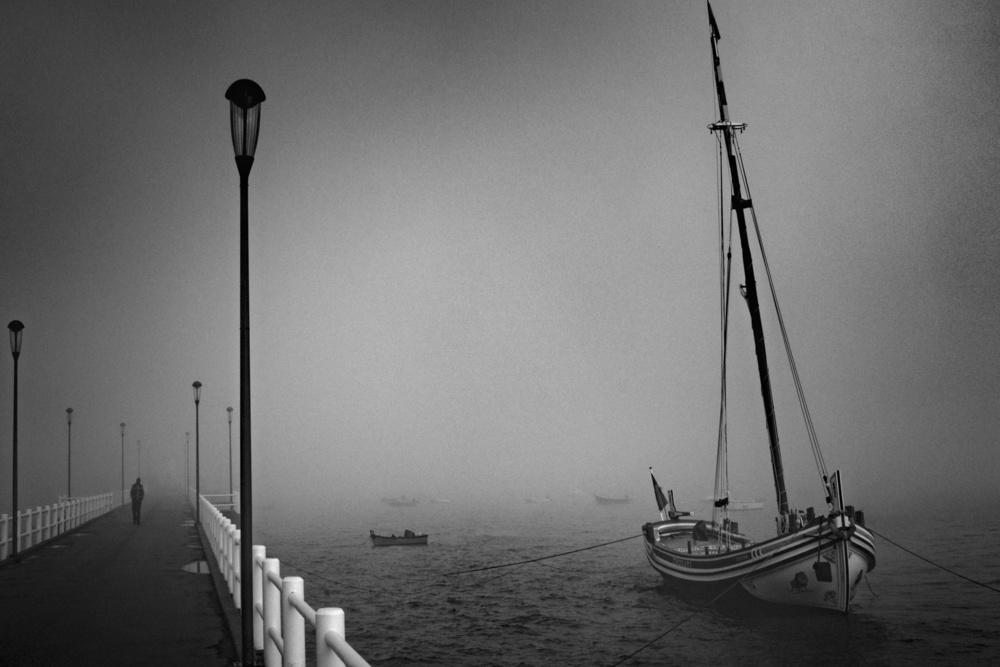 A piece of fine art art photography titled Bote Leão by Fernando Jorge Gonçalves
