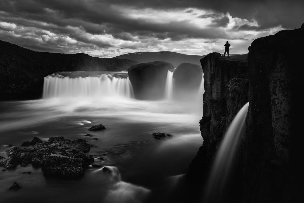 A piece of fine art art photography titled Iceland - MyGodafoss by Michael Jurek