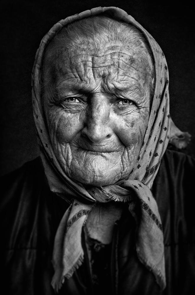 A piece of fine art art photography titled Roman Face by Nidhal Alsalmi