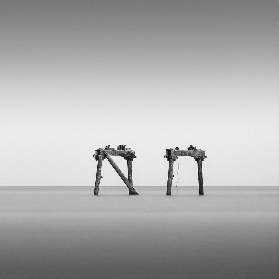 A piece of fine art art photography titled Steel Remains by alexandru crisan
