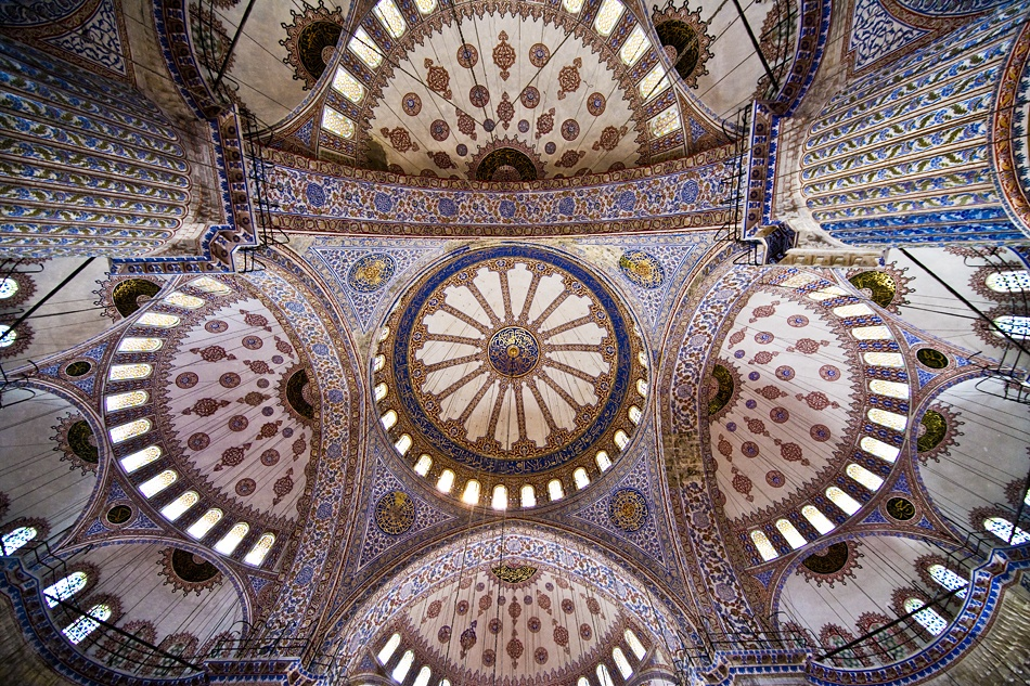A piece of fine art art photography titled Blue Mosque by James Axford