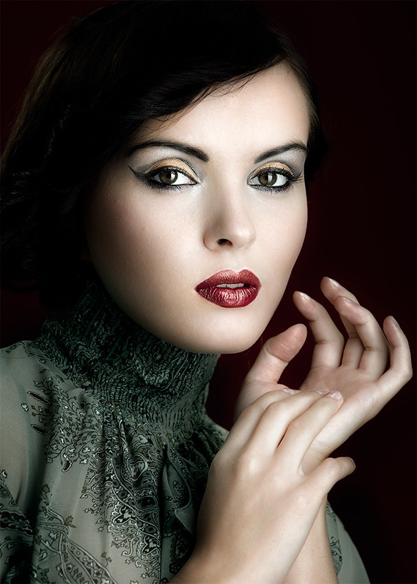 A piece of fine art art photography titled Ewelina by Tomek Dyczewski