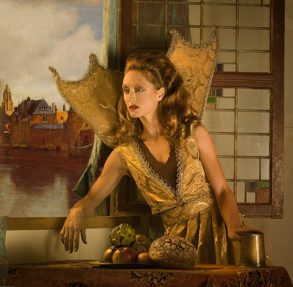 A piece of fine art art photography titled Gezicht Op Delft by Peter Kemp