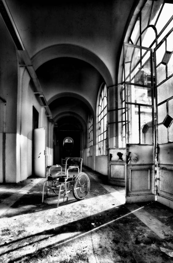 A piece of fine art art photography titled Mental Abandonment by Antonello Crippa