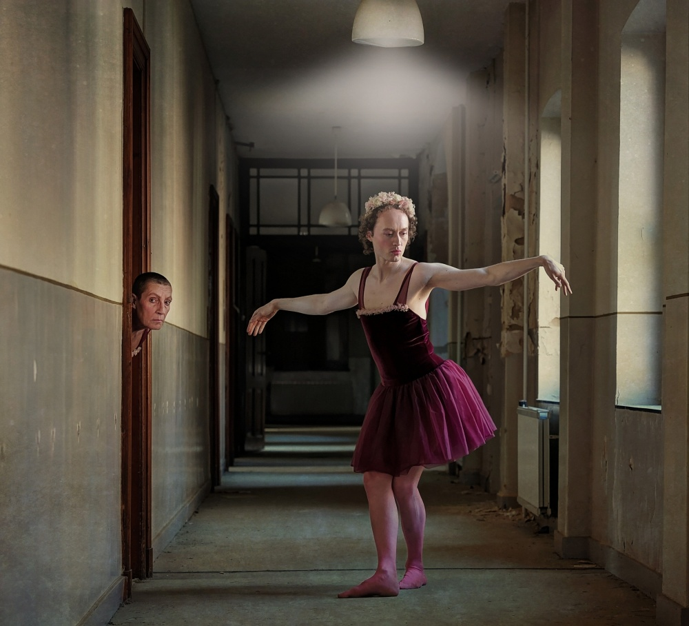 A piece of fine art art photography titled The Other One by Monika Vanhercke