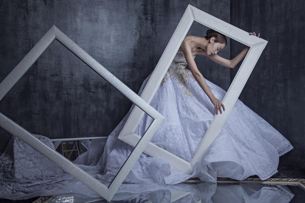 The Bride in Frame