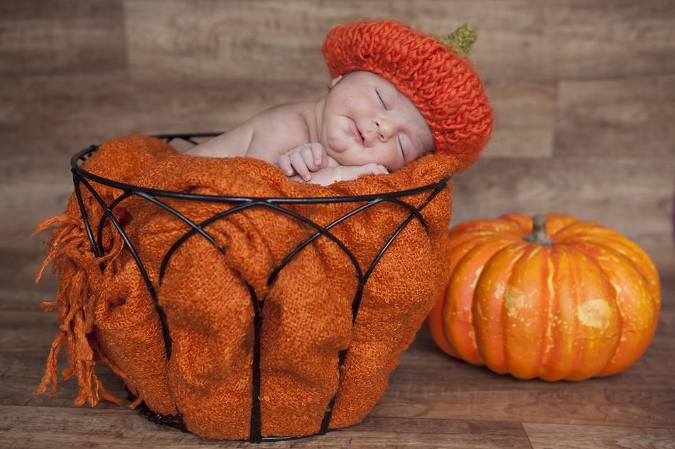 A piece of fine art art photography titled Moriz\\\\\\\'s Pumpkin Baby by Yasime