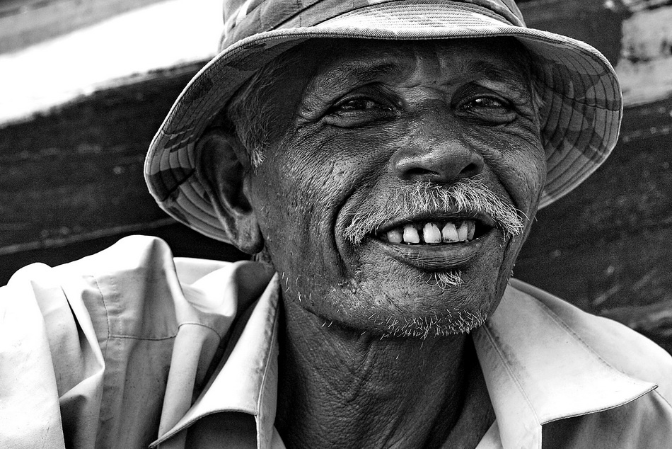 A piece of fine art art photography titled Keep Smile by Agus Sarwono
