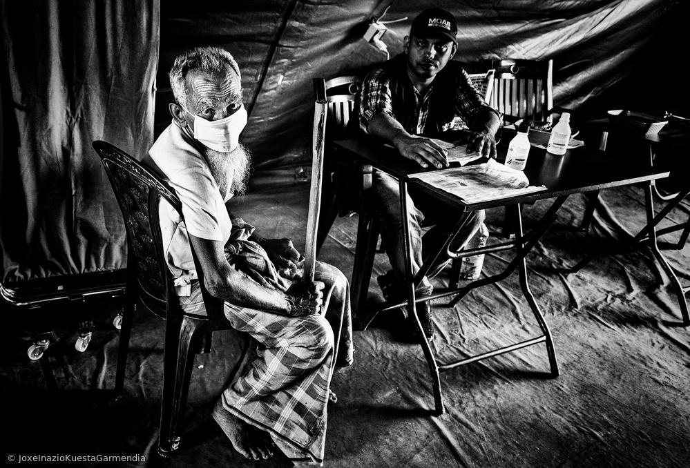 Rohingya refugee in the medical camp - Bangladesh